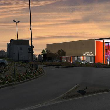 Construction d'une salle multifonctions à Ploufragan : Le Grimolet