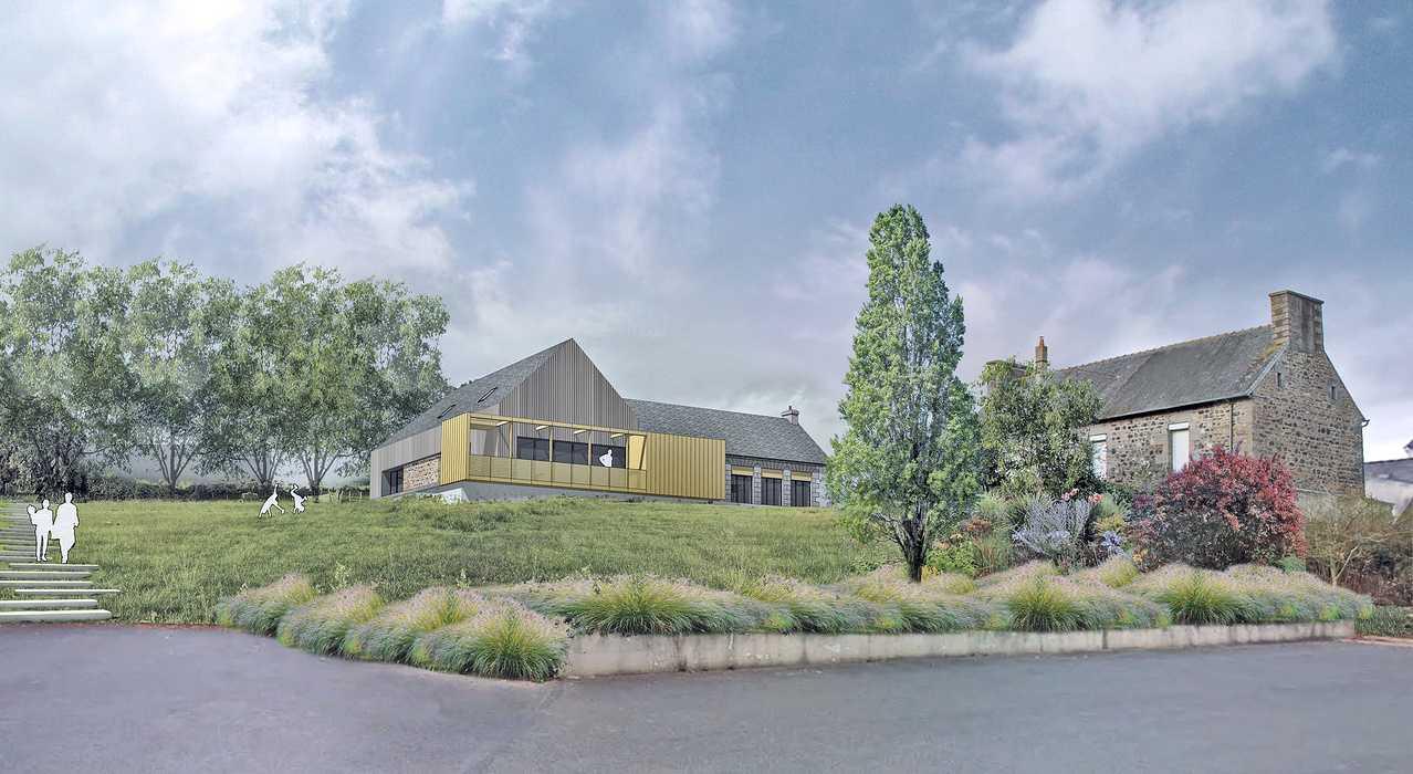 Réhabilitation de l''ancienne école primaire en Maison des Associations à Plédran 0